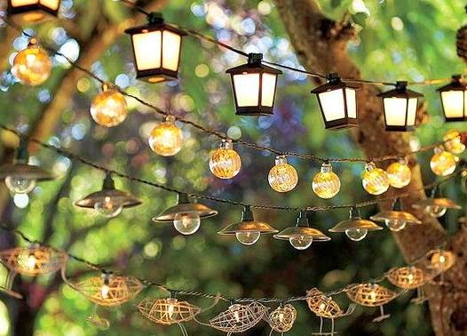 Decorar e iluminar jardines y terrazas metal y luz s l - Lamparas para exteriores jardin ...