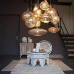 Decoración e iluminación árabe
