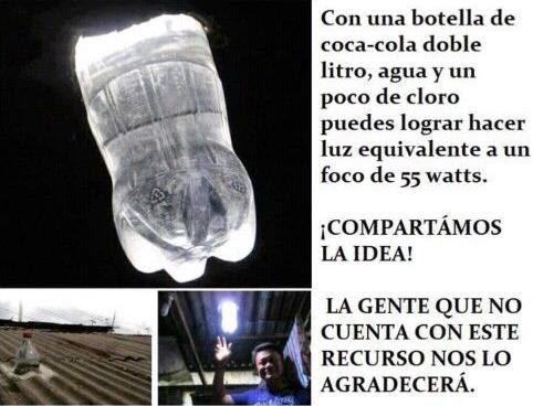 hacer-luz-con-botella