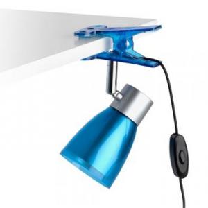 lampara de pinza con interruptor en el cableado