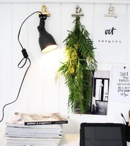 para completar la iluminacion en un despacho