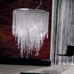 Lámparas de cristal tallado