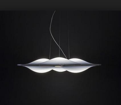 lampara led circle wave