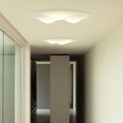 lampara led plafon circle wave