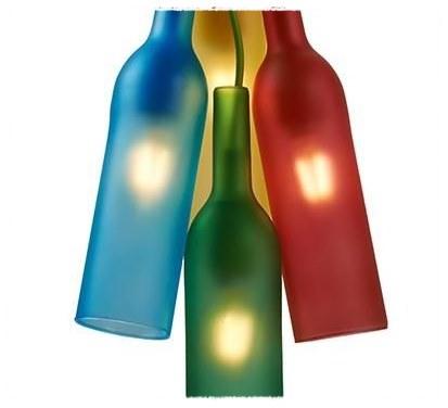 Coordinar S T Bosquejo Botellas Cristal Colores Decrépito Techo Cavidad