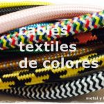 cables de colores para lámparas