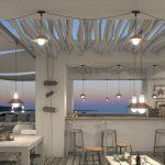 Iluminación de restaurantes, bares y cafeterias.